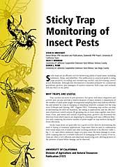 Sticky Trap Monitoring of Insect Pests - PDF