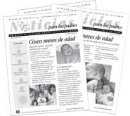 Noticias para los padres: un boletín mensual sobre usted y su bebé