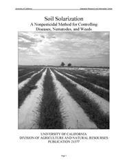 Soil Solarization: 1984 PDF