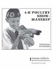 4 h poultry showmanship manual.