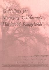 Guidelines for Managing California's Hardwood Rangelands PDF
