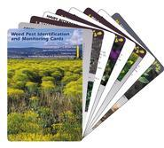 Weed Pest Identification and Monitoring Cards