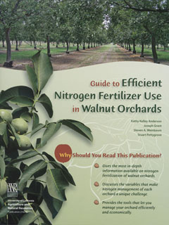 Guide to Efficient Nitrogen Fertilizer Use in Walnut Orchards