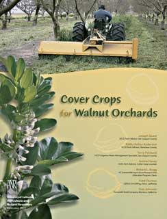 Cover Crops for Walnut Orchards