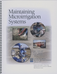 Maintaining Microirrigation Systems (Print edition)